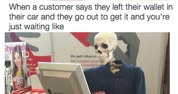 Skeletonwait