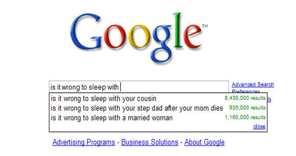 Funny Google Autocomplete Suggestions