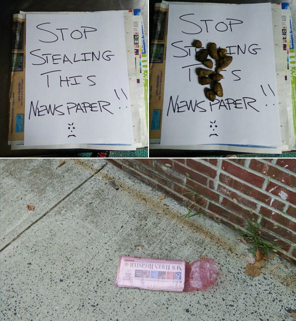 Stealing Paper