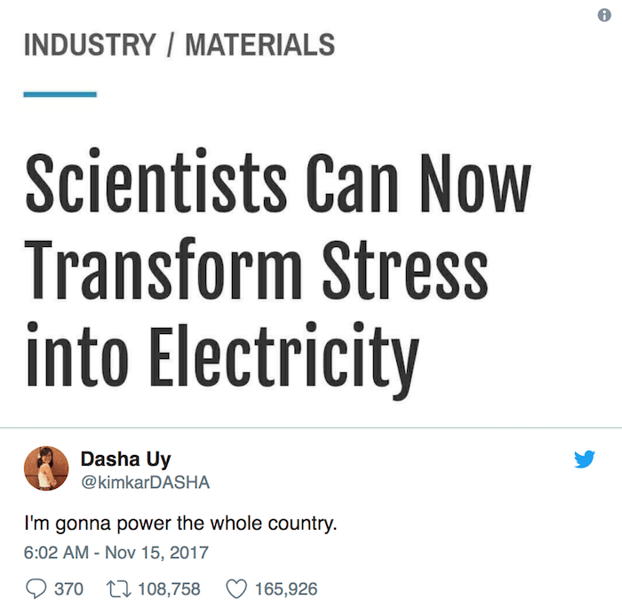Stress Electricity