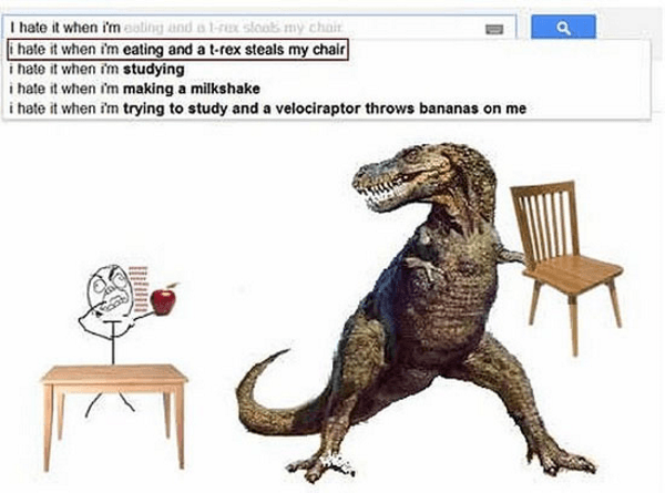 T Rex Chair Thief