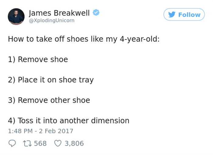 Taking Off Shoes