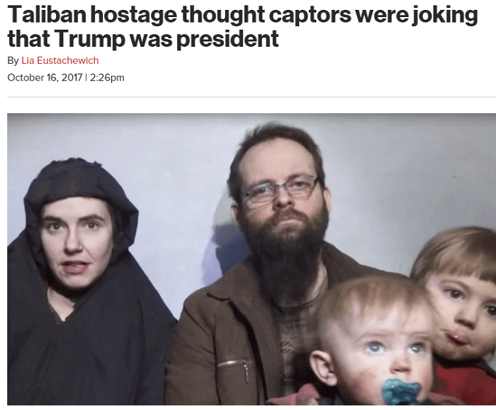 Taliban Hostage