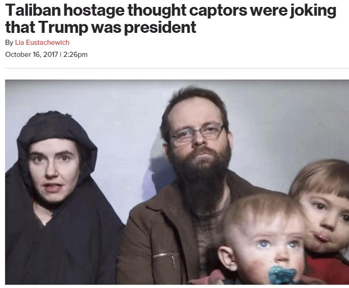 Taliban Hostage