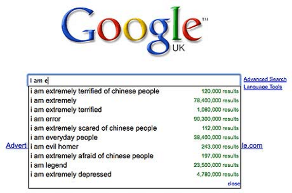 Terrified Of Chinese