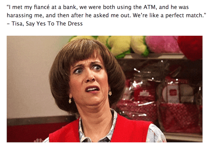 Hilarious Say Yes To The Dress Memes