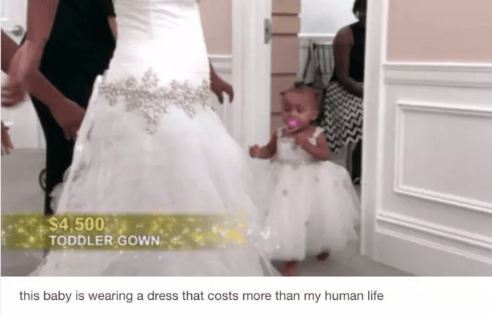 Toddler Gown On Say Yes To The Dress