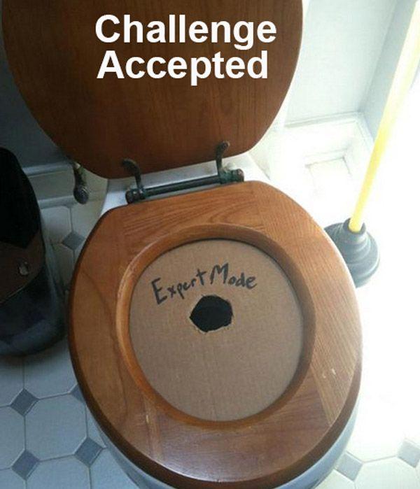 Toilet Hole