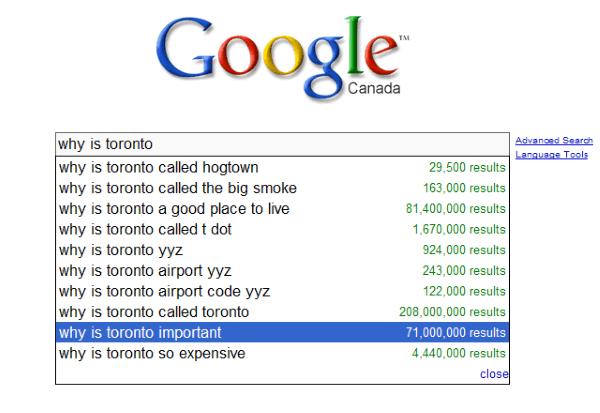 Toronto Important