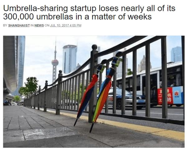 Umbrellas Funny News Headlines