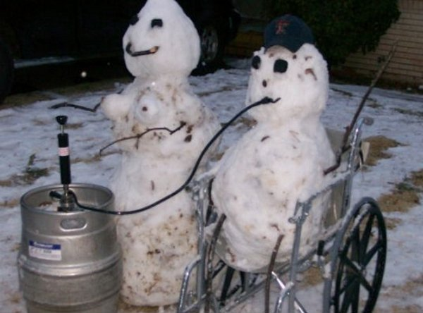 Wheelchair Kegger