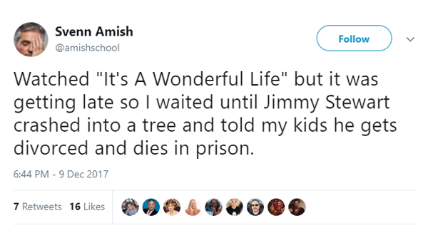 Tweets About It's A Wonderful Life