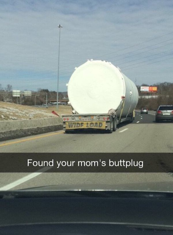Your Moms Buttplug